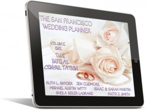 Wedding Planner cover on iPad